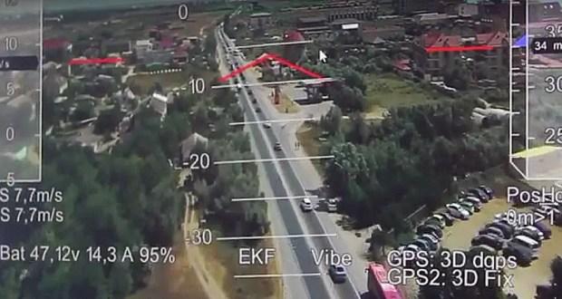 Госавтоинспекция Крыма следит за нарушителями ПДД с воздуха