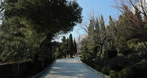 Правительство Крыма установило максимальный процент застройки Форосского парка