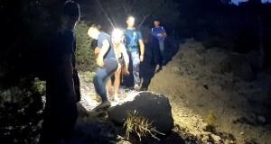В горах под Судаком заблудилась девушка. На помощь пришли крымские спасатели