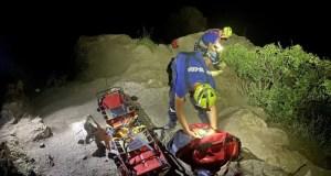 Вечерняя прогулка по Сырной скале едва не обернулась трагедией. «КРЫМ-СПАС» пришел на помощь