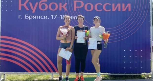 На Кубке России по легкой атлетике крымчане заняли второе командное место в первой лиге