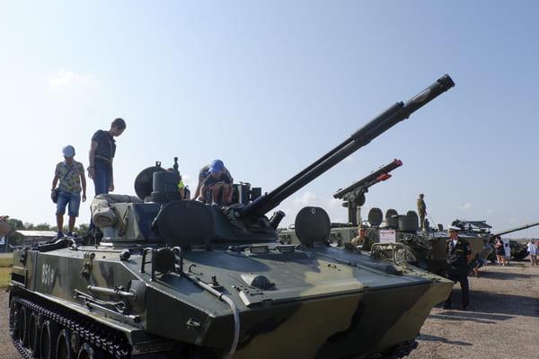 Как проходит форум «Армия-2021» в Симферополе