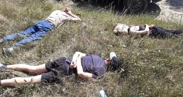 В Крыму сотрудник полиции в одиночку задержал троих подозреваемых в совершении преступления
