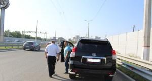 В Крыму Госавтоинспекция искала неплательщиков штрафов на дорогах Симферополя