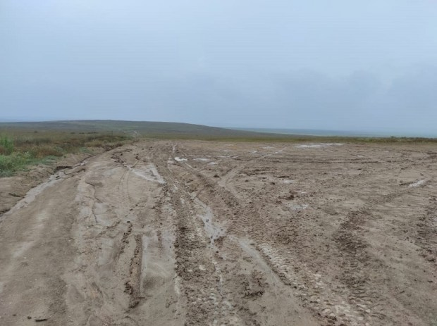 Дожди размыли дороги в Опукский заповедник на востоке Крыма