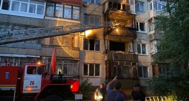 На пожаре в Джанкойском районе погиб человек