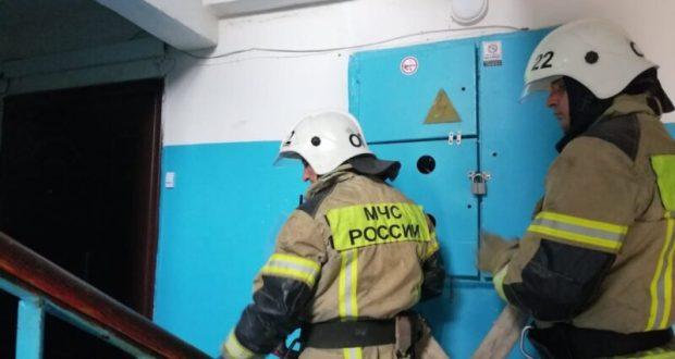 На пожаре в евпаторийском поселке Новоозерное эвакуировали 20 человек