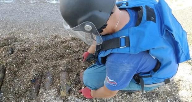 Опасные «пляжные» находки: на востоке Крыма уничтожены авиабомбы времен Второй мировой