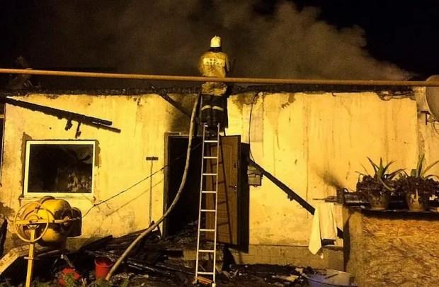 В бахчисарайском селе Новоульяновка сгорел жилой дом