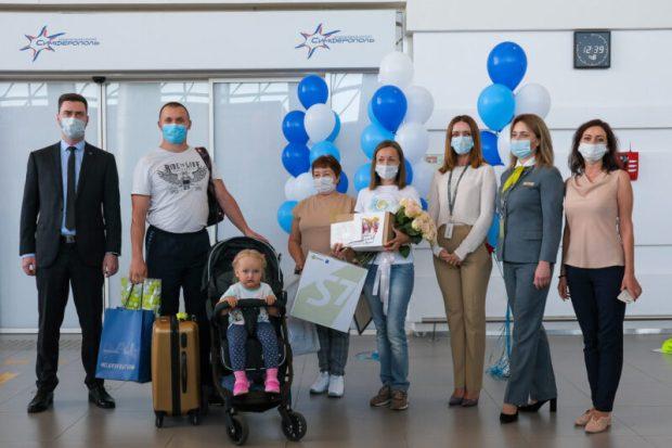 """Аэропорт """"Симферополь"""" обслужил 5 миллионов пассажиров на три месяца раньше доковидного 2019-го"""