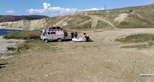 «КРЫМ-СПАС» эвакуировал группу туристов в районе феодосийского поселка Орджоникидзе