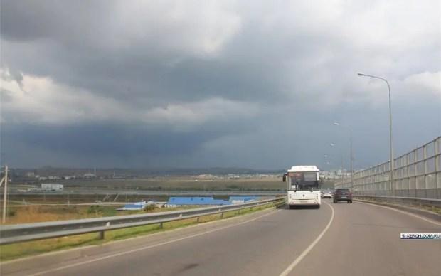 На востоке Крыма – ливень. Власти Керчи призвали горожан «из низинок» быть готовыми к эвакуации