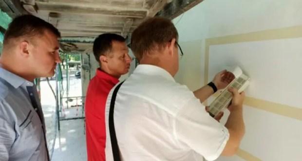 В ходе капремонта домов в Севастополе будут проводить контрольные выкрасы фасадов