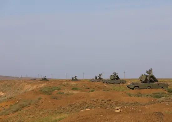 Расчеты ПВО армейского корпуса Черноморского флота провели боевые стрельбы на полигоне Опук в Крыму
