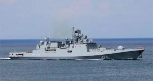Фрегат Черноморского флота «Адмирал Эссен» совершил деловой заход в порт Лимасол на Кипре