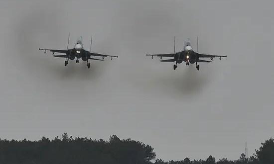 В небе над Крымом молодые летчики ЮВО выполнили первые полёты в роли командиров экипажей