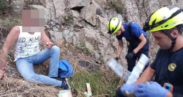 Происшествие на южнобережной Медведь-горе: турист сорвался со скалы