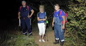 «КРЫМ-СПАС» пришел на помощь заблудившейся на склоне горы Аю-Даг туристке