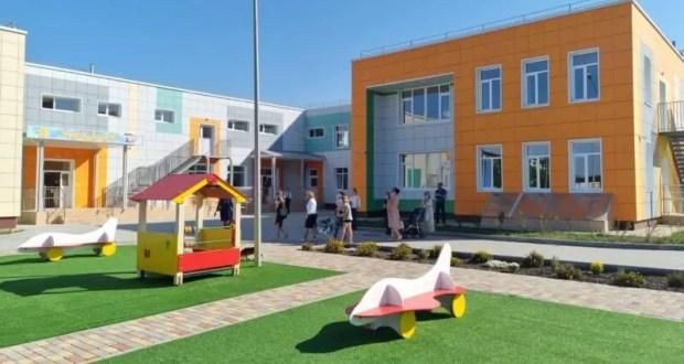 В бахчисарайском селе Вилино в рамках ФЦП провели реконструкцию детского сада на 240 мест