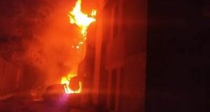 Серьёзный пожар в пгт. Приморский