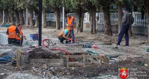 Благоустройство второй очереди Симеизского парка завершено на треть