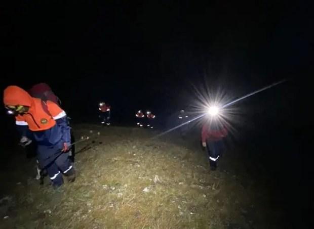 «КРЫМ-СПАС» пришел на помощь мужчине, сбившемуся с туристической тропы на горе Караул-Кая