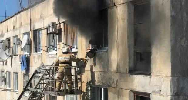 Следком проверяет обстоятельства гибели женщины на пожаре в Евпатории