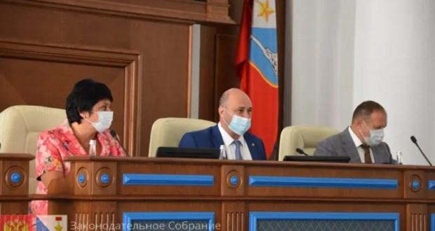 28 сентября Заксобрание Севастополя соберется на пленарное заседание
