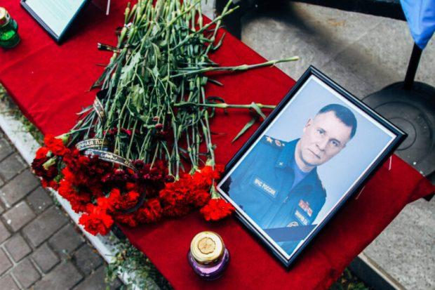 Гул сирен – в память о Министре МЧС Евгении Зиничеве. Всероссийская мемориальная акция в Севастополе