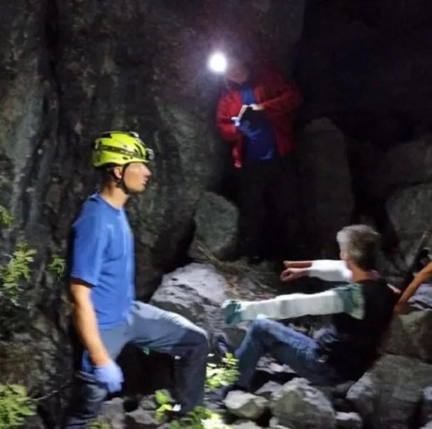 За выходные дни «КРЫМ-СПАС» трижды приходил на помощь туристам