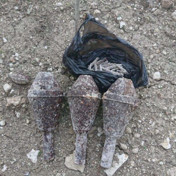 В Севастополе на территории частных домовладений находят боеприпасы времен войны
