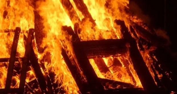 Ночные пожары: в пгт. Приморский и пгт. Нижнегорский