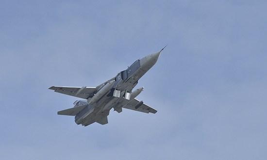 Морская авиация Черноморского флота выполнила практическое бомбометание на полигоне в Крыму