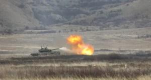 Танковые роты береговой обороны Черноморского флота выполнили стрельбы на полигоне в Крыму