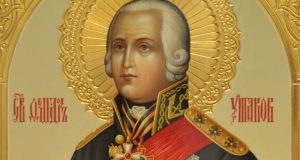 15 октября в поселке Новофедоровка Сакского района освятят памятник адмиралу Ф. Ушакову