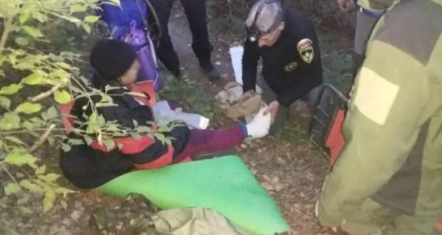 Пошла женщина в лес по грибы-ягоды… а пришлось звать на помощь спасателей