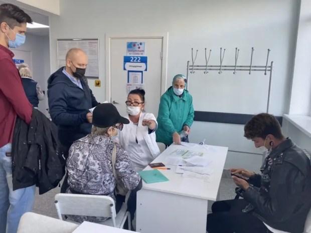 Как работают пункты вакцинации от коронавируса в Севастополе