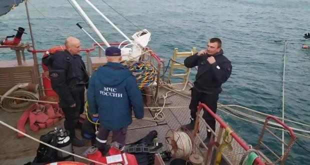 В акватории Феодосийской бухты продолжается разминирование грузового теплохода «Жан Жорес»