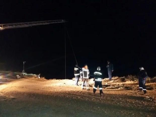 Вечернее ЧП в Севастополе: автомобиль упал с обрыва в море, водитель погиб