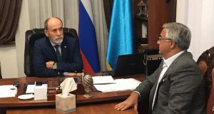 Муфтий Крыма и г. Севастополь Эмирали Аблаев встретился с вице-премьером Республики Татарстан