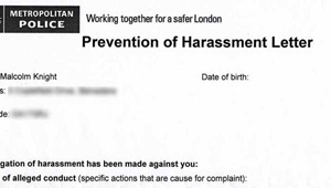 Harassment Warnings: How to Challenge Them