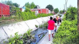 El cuerpo de Daiana fue encontrado en un arroyo entubado a dos cuadras de su casa.