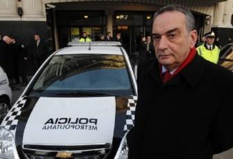 Palacios fue jefe de la Policía Metropolitana.