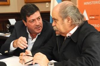 Mariotto y Granados encabezaron la reunión.