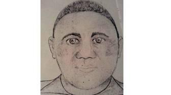 El identikit del violador de Mar del Plata.