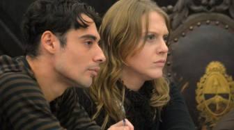 La pareja condenada por el tribunal oral.