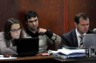 Martínez llegó al juicio en libertad.