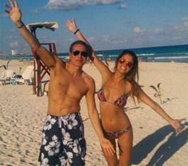 Nisman y su amiga Cocucci en Cancún.