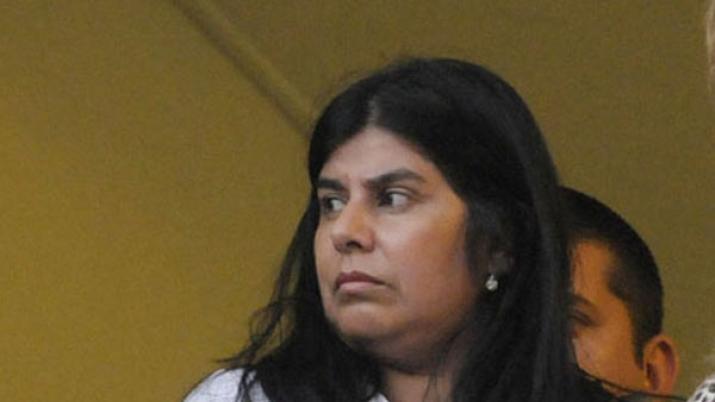 Martinez Llanos se entregó y fue internada.