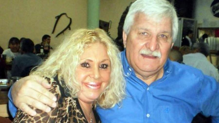 Carrazone y su esposa Stella Maris.